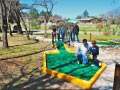 KQ Ranch Resort - Playing a round of mini golf
