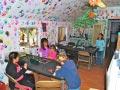 KQ Ranch Resort - Kids making crafts at the kids club