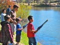 KQ Ranch Resort - Fishing with friends