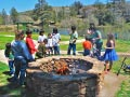 KQ Ranch Resort - Weenie roast at the fire pit