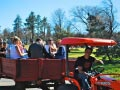 KQ Ranch Resort - Tractor rides at the park