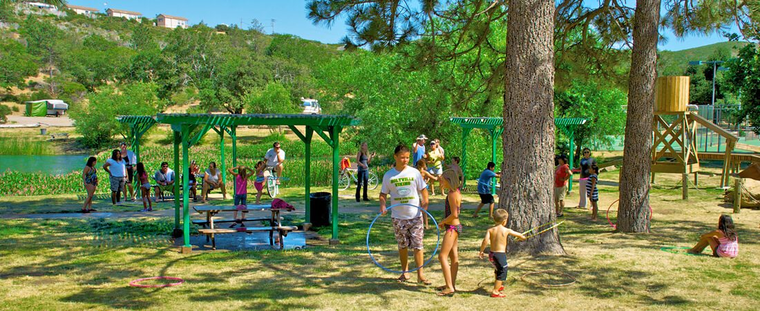 Kids Playing at KQ Ranch RV Resort