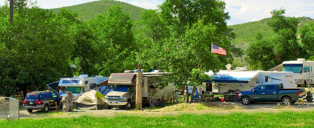 rv sites full hook up